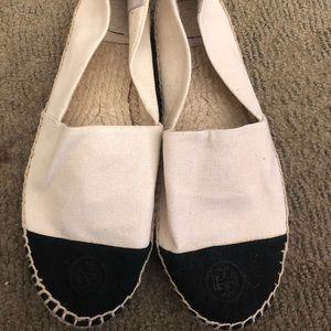Tory Burch Color Block Espadrille Shoe